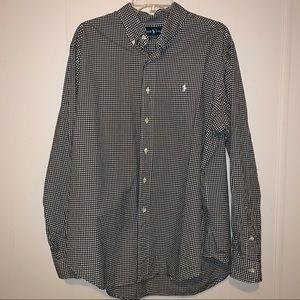 EUC Ralph Lauren Classic Fit L/ S  Shirt Size XL